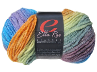 "Ella Rae ""Seasons"" Yarn - colour: 51, dye lot: S-199 - Bright Rainbow"