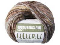 "Queensland Collection ""Uluru"" Yarn - color: UL-26, dye lot: 16B - Brown, Gray, White"