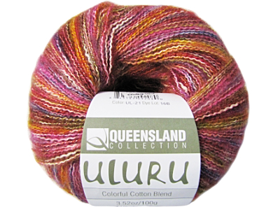 "Queensland Collection ""Uluru"" Yarn - color: UL-21 - Hot Rose"