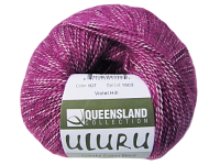 "Queensland Collection ""Uluru"" Yarn - color: 107, dye lot: 1603 - Violet Hill"