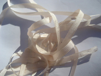 YLI Silk Ribbon, 4mm — 005 (pale pink)