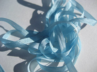 YLI Silk Ribbon, 4mm — 010 (baby blue)
