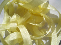 YLI Silk Ribbon, 7mm — 013 (maize)