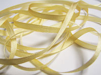 YLI Silk Ribbon, 4mm — 014 (yellow)