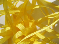 YLI Silk Ribbon, 4mm — 015 (goldenrod)