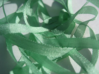 YLI Silk Ribbon, 7mm — 018 (light fern green)
