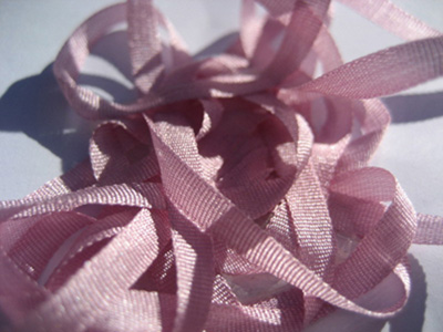 YLI Silk Ribbon, 4mm — 022 (light violet)