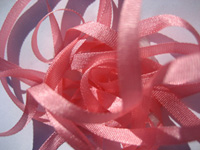 YLI Silk Ribbon, 7mm — 024 (bubble gum)