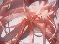 YLI Silk Ribbon, 4mm — 026 (light rose)