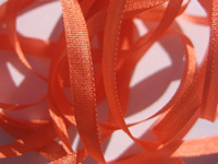 YLI Silk Ribbon, 4mm — 043 (persimmon)