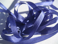 YLI Silk Ribbon, 7mm — 045 (Copenhagen blue)