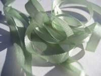 YLI Silk Ribbon, 4mm — 062 (ice frappe)