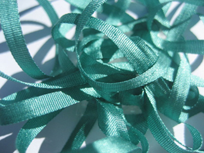 YLI Silk Ribbon, 4mm — 064 (jade)