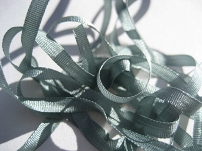 YLI Silk Ribbon, 4mm — 074 (misty green)