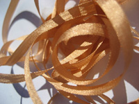 YLI Silk Ribbon, 4mm — 078 (light copper)