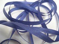 YLI Silk Ribbon, 4mm — 118 (dark periwinkle)