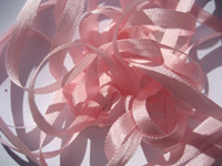 YLI Silk Ribbon, 4mm — 122 (light coral pink)