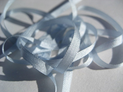 YLI Silk Ribbon, 4mm — 125 (light blue)
