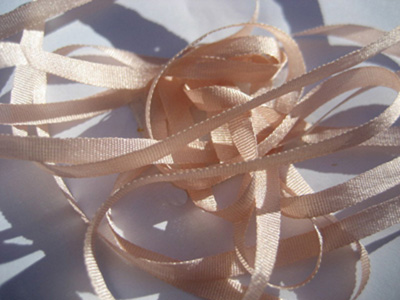YLI Silk Ribbon, 4mm — 157 (light rose)