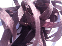 YLI Silk Ribbon, 4mm — 179 (dusty grape)