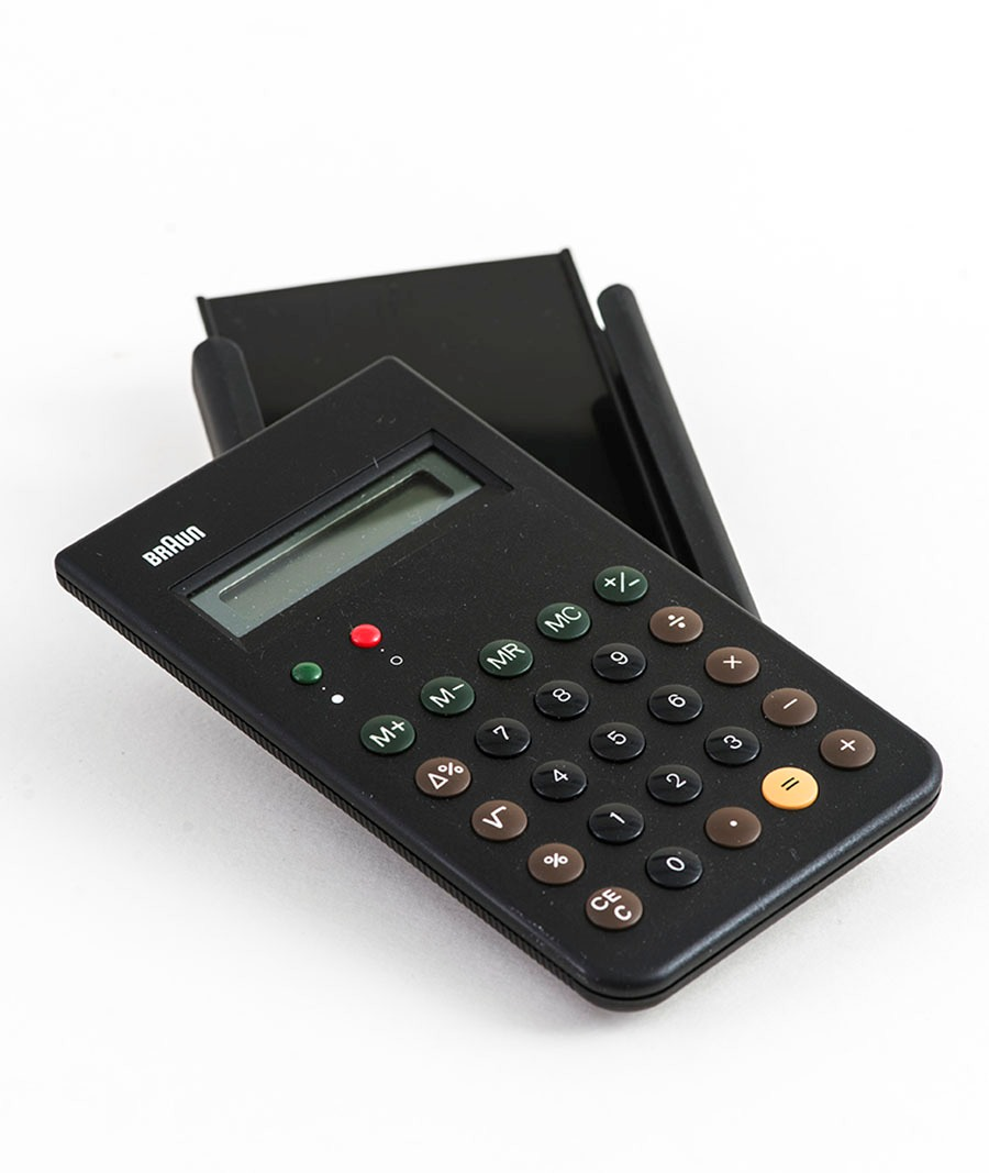 Braun Calculator Philip Johnson Glass House Online Store