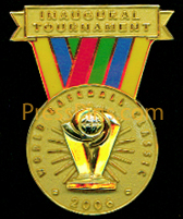 2006 World Baseball Classic Press Pin MAIN