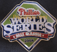 2008 Philadelphia Phillies World Series Press Pin