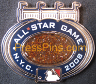 2008 New York All Star Press Pin