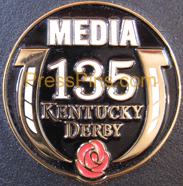 2009 Kentucky Derby Media Pin MAIN
