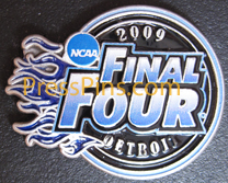 2009 NCAA Final Four Press Pin (Detroit)