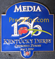 2010 Kentucky Derby Media Pin