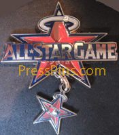 2010 Anaheim All-Star Press Pin