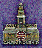 1981 NCAA Final Four Press Pin (Philadelphia)