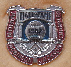 1982 Hall of Fame Press Pin