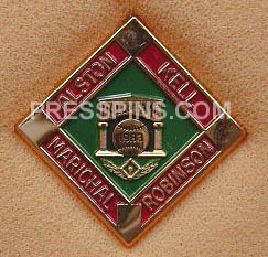 1983 Hall of Fame Press Pin MAIN