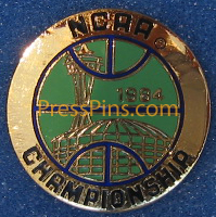 1984 NCAA Final Four Press Pin (Seattle)