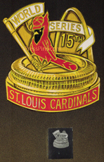 1987 St. Louis Cardinals Original Press Pin Artwork
