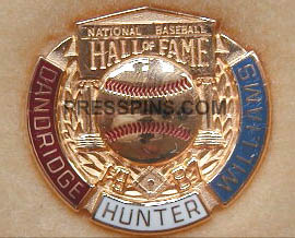 1987 Hall of Fame Press Pin