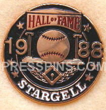 1988 Hall of Fame Press Pin MAIN