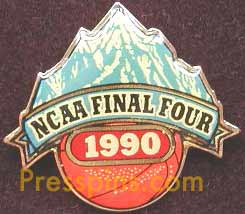1990 NCAA Final Four Press Pin (Denver)