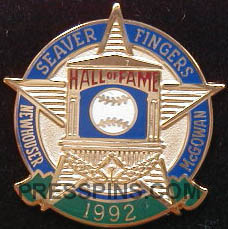 1992 Hall of Fame Press Pin MAIN