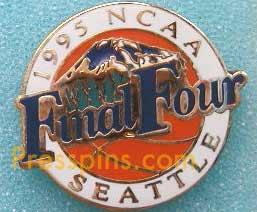 1995 NCAA Final Four Press Pin (Seattle)