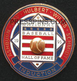 1995 Hall of Fame Press Pin