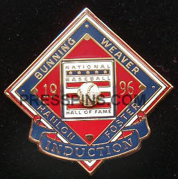 1996 Hall of Fame Press Pin