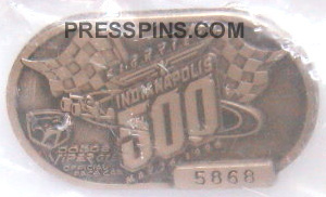 1996 Silver Indianapolis 500 Pit Badge_MAIN