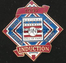 1997 Hall of Fame Press Pin