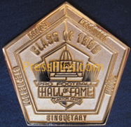 1998 Pro Football HOF Player Pin
