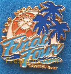1999 NCAA Final Four Press Pin (Tampa Bay)