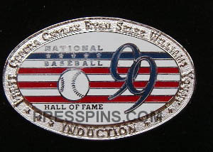 1999 Hall of Fame Press Pin