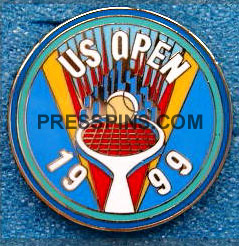 1999 U.S. Open Tennis Press Pin